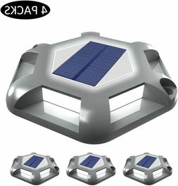 4Pack Solar Spot lights LED Garden Wall Path Landscape Outdo