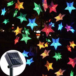 Solar Powered 100 LED String Fairy Lights Garden Party Decor