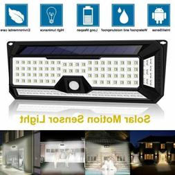 Solar Powered 136LED Light Waterproof Outdoor Security Garde