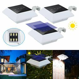 solar powered 6 leds outdoor garden yard
