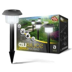 Solar-Powered LED Garden Lights, Lifetime replacement Guaran