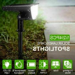 Solar Powered LED Light Outdoor Garden Security Wall Fence G
