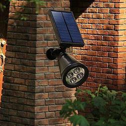 Solar Powered Light Spotlight 2Pc Outdoor Landscape Waterpro