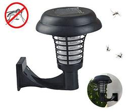 Solar-Powered Outdoor Mosquito Killer, Bug Zapper, Insect Bu