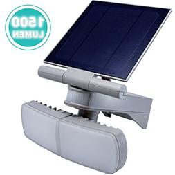 Solar Powered Motion Sensor Light, ANKO 1500Lumen Adjustable
