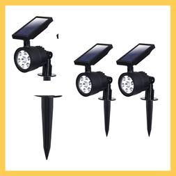 SOLAR POWERED SPOTLIGHT Color Changing 50/200 Lumen LED Weat