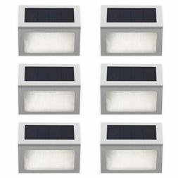 Solar Powered Step Stair Lights LED Outdoor Lighting for Yar