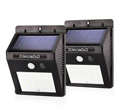 Solar Security Lights 20 LED Wireless Waterproof Motion Acti