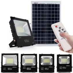 Solar Sensor 140/192 LED Waterproof Outdoor Security Flood L