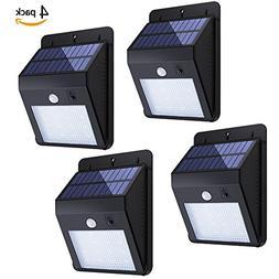Solar Sensor Lights,KUMEDA Waterproof Motion Sensor Outdoor