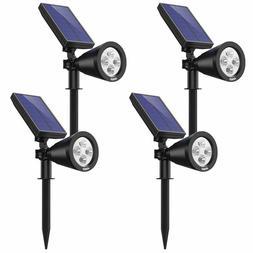 AMIR Solar Spot Light - LED Outdoor Spotlight for Garden, Fl