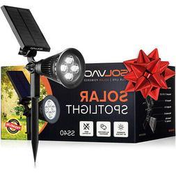 SOLVAO Solar Spotlight  - Ultra Bright, Waterproof, Outdoor