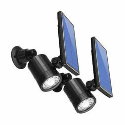 AMIR Solar Spotlight, Upgraded Motion Sensor Lights Outdoor,