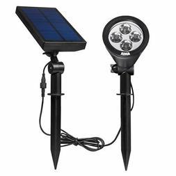 AMIR Upgraded 2 in 1 Solar Lights, 180° Adjustable Waterpro
