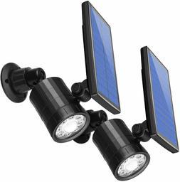 AMIR Solar Spotlight, Upgraded Motion Sensor Lights Outdoor,