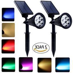 solar spotlights 7 led