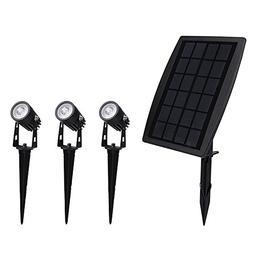 Solar Spotlights, Findyouled 2-in-1 Waterproof Outdoor Lands