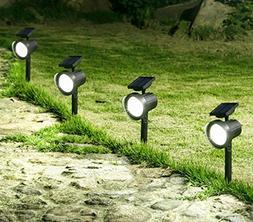 Twinkle Star 45 Lumens Solar Spotlights Landscape Lighting S
