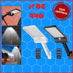 Solar Street Lights Outdoor Waterproof Led With Remote Contr