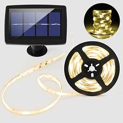 Solar String Lights, BESWILL Flexible&Cuttable 16.4 Feet LED