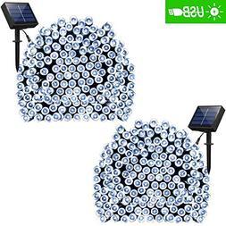 solar string lights modes
