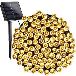 Joomer Solar String Lights 72ft 200 LED 8 Modes Solar Powere