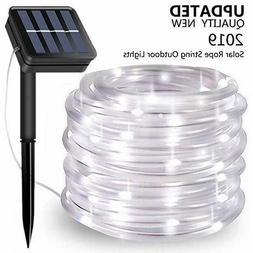Solar String Lights Outdoor 100 LED Rope lights Outdoor Wate