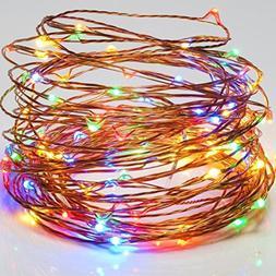 Sogrand Solar String Lights Outdoor Waterproof Multicolor 20
