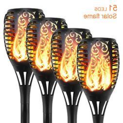 Solar Torch Flickering Flame Lights & Lantern Hanging Lights
