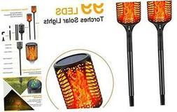 Solar Torch Lights, Outdoor Flickering Flames Lights,Landsca