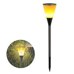 SEYEON Solar Torch Lights Waterproof LED Solar Garden Lights