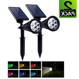 PowerKing LED Solar Low Voltage Landscape Flood Light Colore