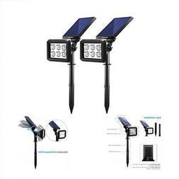 Spotlights URPOWER Solar Lights Outdoor Upgraded, 2-in-1 Wat
