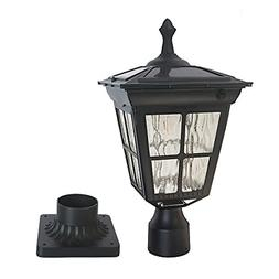 Kemeco ST4311AQ LED Cast Aluminum Solar Post Light Fixture w