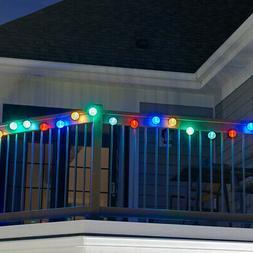 Smart Solar Solar String Lights - 20 LED Chinese Lanterns -