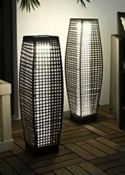 Grand Patio Super-Bright Outdoor Floor Lamp, Set of 2, Large