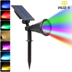 T-SUNRISE 7 LED <font><b>Solar</b></font> Spotlight Auto <fo