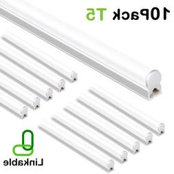 Hykolity T5 4FT Integrated LED Shop Light 22W Utility Garage