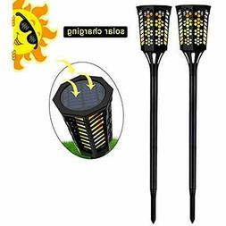 Torches Solar Lights 96 LED Flickering Flame Outdoor Garden