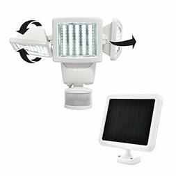 2 SunForce 150 LED Triple-Head Solar Motion Activated Securi
