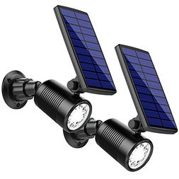 InnoGear Upgraded 2-in-1 Motion Sensor Solar Lights Waterpro