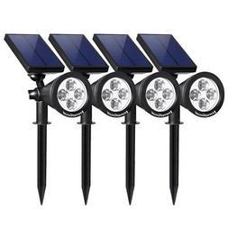 Innogear Upgraded Solar Lights 2-In-1 Waterproof Outdoor Lig