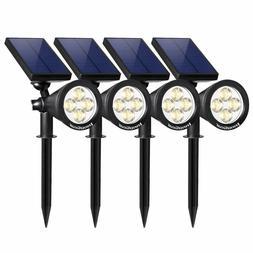 InnoGear Upgraded Solar Lights 2-in-1 Waterproof Outdoor Pac