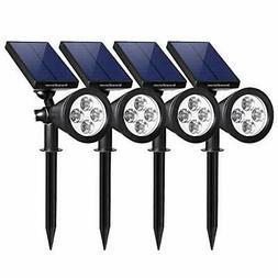InnoGear Upgraded Solar Lights 2-in-1 Waterproof Outdoor Lan