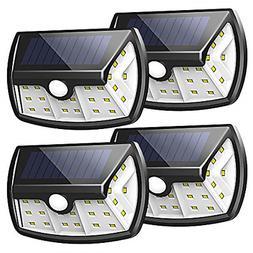 InnoGear Upgraded Solar Lights Outdoor, Motion Sensor Light