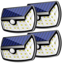 upgraded solar lights outdoor motion sensor light