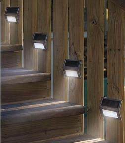 HOSL 10 Pack Upgrated Solar Dock Light, Upgrated Solar Power