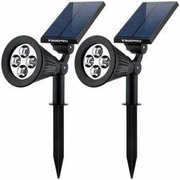 URPOWER 4 LED Solar Lights Flood Modern New Spotlight Landsc
