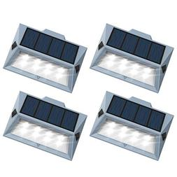 Roopure【Newest Version 8 LED】Solar Stair Step Lights Out