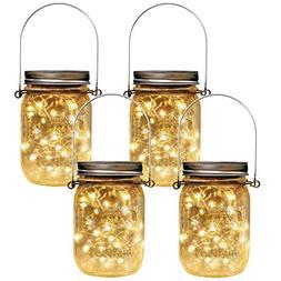 vintage solar mason jar light